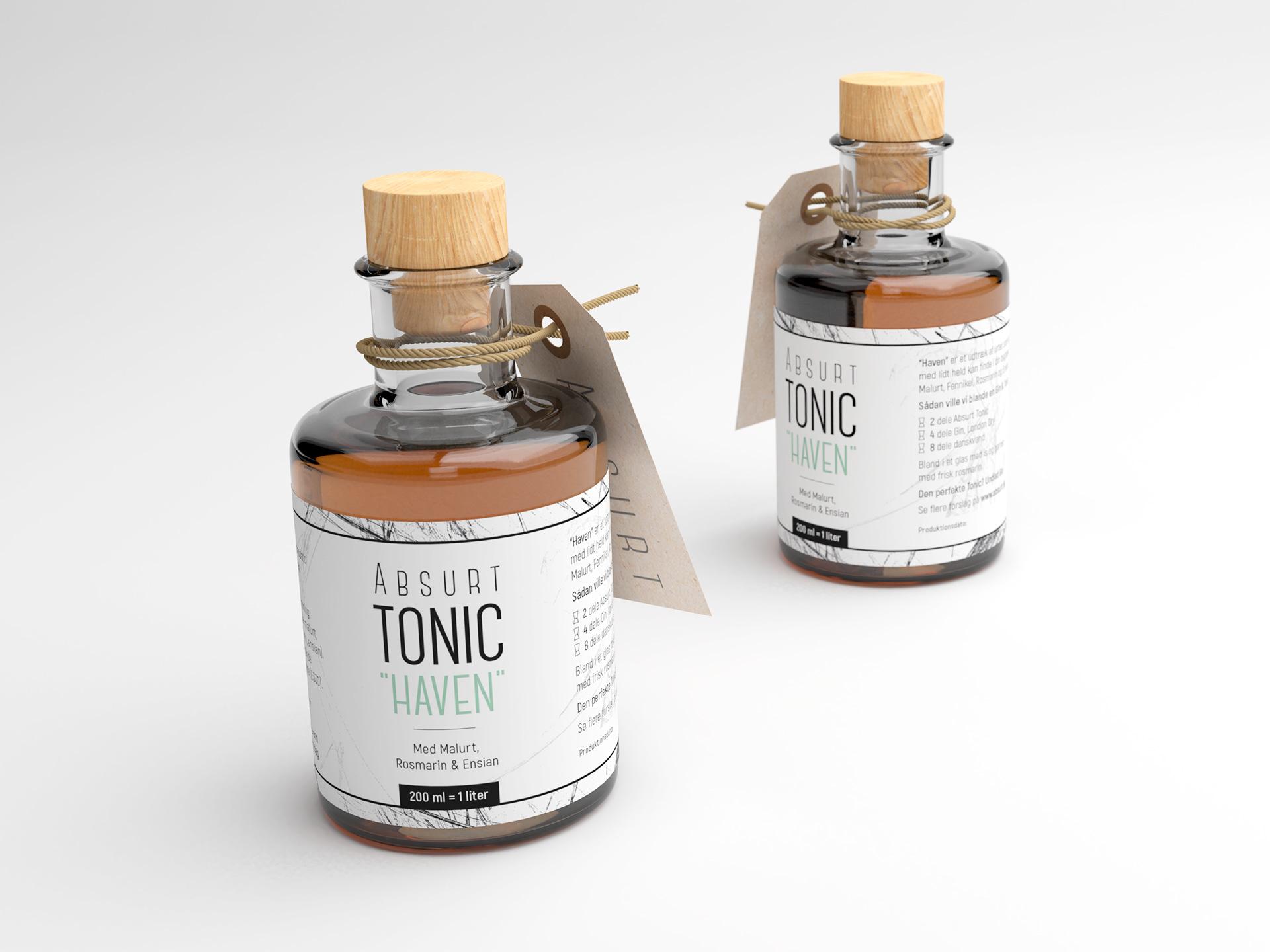 Absurt flaske